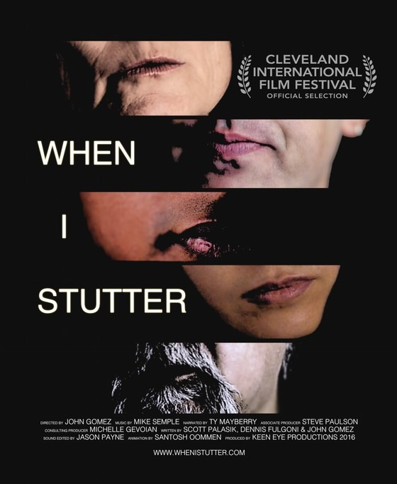 """When I Stutter"" is an official selection for the Cleveland International Film Festival!"