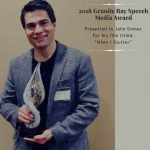 john with award